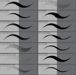 Various Brushes CLIP STUDIO PAINT EX