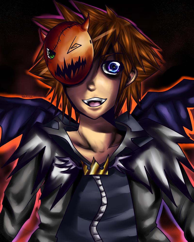 KH: Halloween Sora by Rii-chanx3
