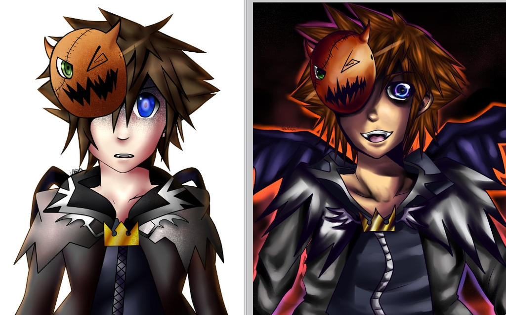 Draw this again: Halloween Edition 2013-2014 by Rii-chanx3