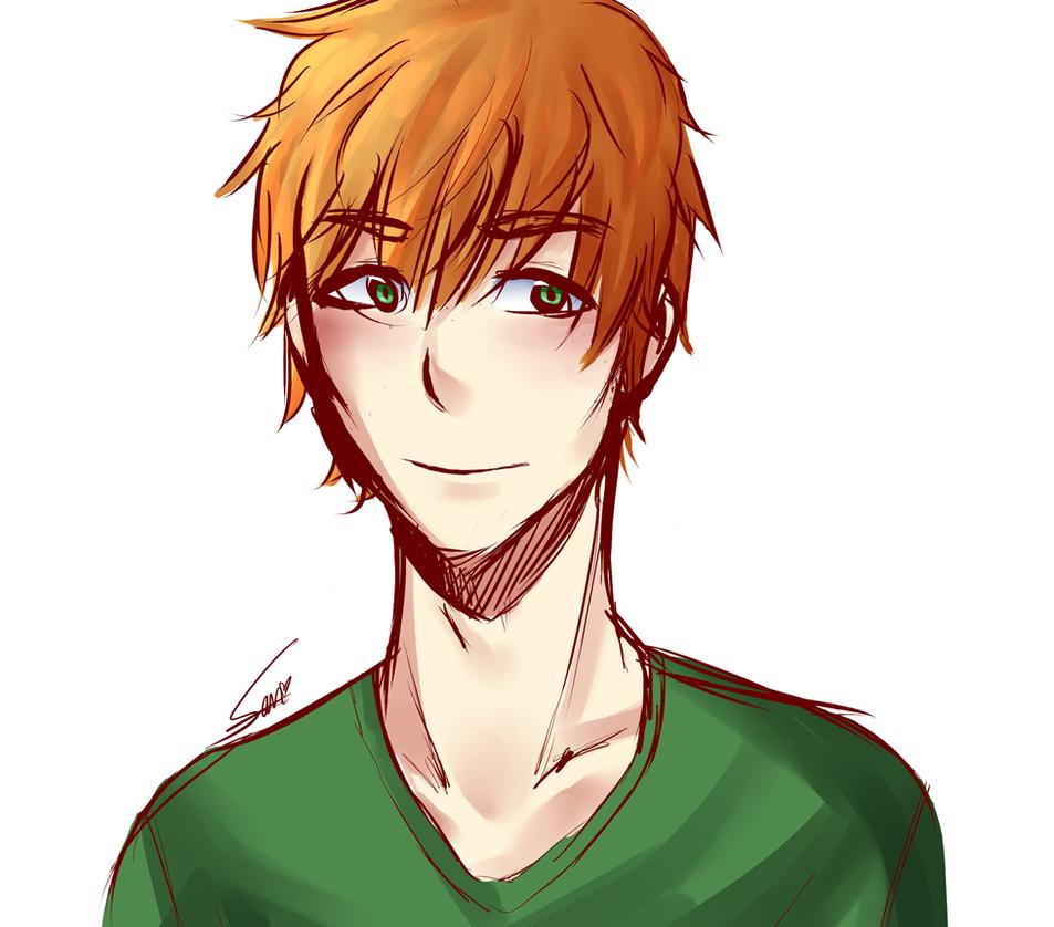 Random Ginger Guy by Rii-chanx3