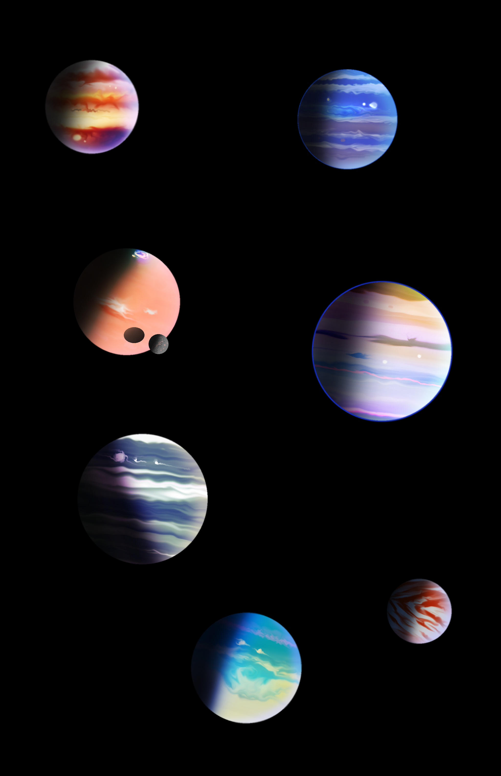gas planets by homer1960 on DeviantArt