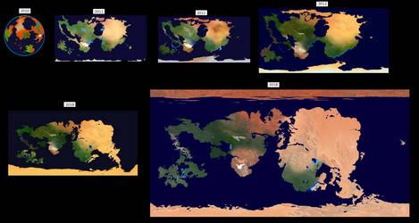 evolution map by homer1960