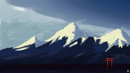 Snow Mountains by workofk