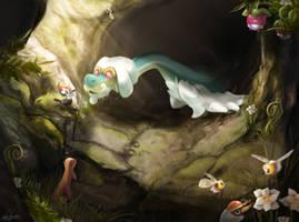 Drampa's Cave by LukeFitzsimons
