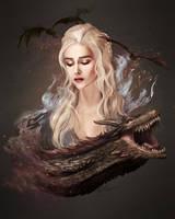 Daenerys Tagaryen by LukeFitzsimons