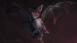 Cat Bat by LukeFitzsimons