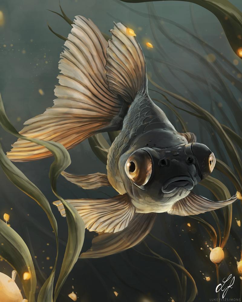 Little Goldfish by LukeFitzsimons