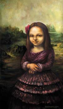 The little Mona Liza