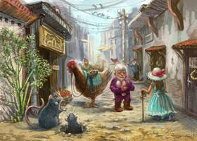 Mini Village by bocho