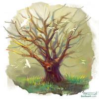 Cute tree by bocho
