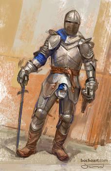 Knight painting