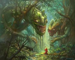 Jungle Deathtrap by bocho