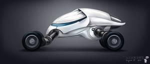 Sci-fi vehicle concept