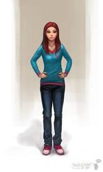 Teen Girl concept by bocho