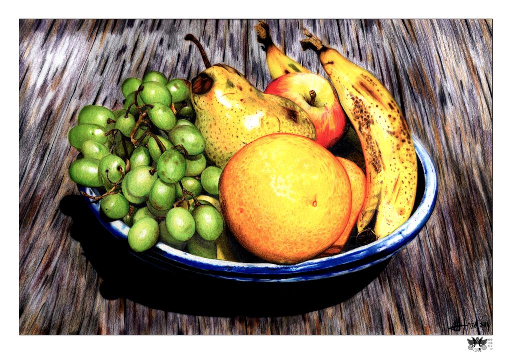 Obligatory Bowl of Fruit by SetsUrO-MenurIke