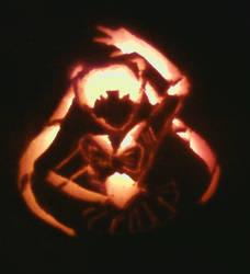 Sailor Moon Pumpkin by moonmama89