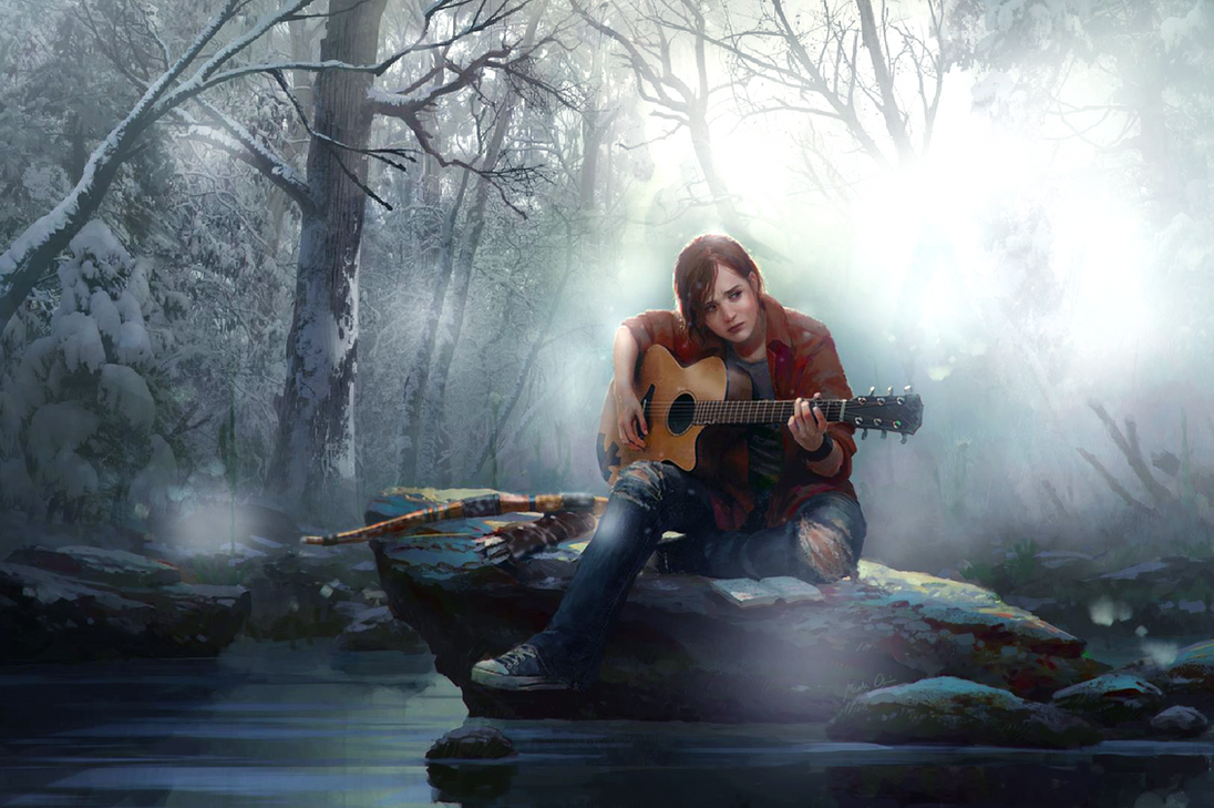 Ellie The Last Of Us Wallpaper: Ellie-The Last Of Us (Photomanipulation/wallpaper) By