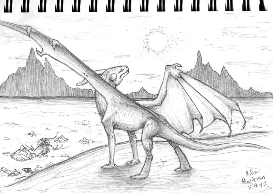 Weekly sketch 4 by Dreikaz