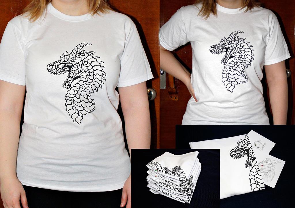 Dragon T-shirts sale (price update+TampereKuplii) by Dreikaz