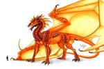Ancient fire dragon