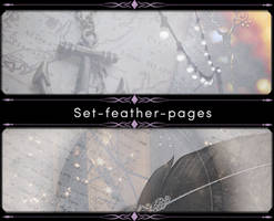 Set-feather-pages