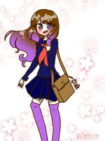 Schoolgirl  by 123NicoNicoNii