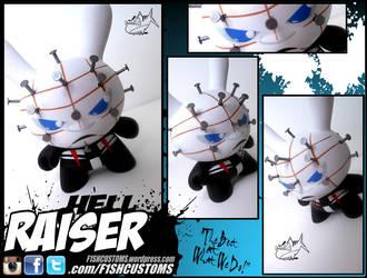 Hellraiser dunny by F1shcustoms
