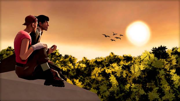 Commission: Sunset