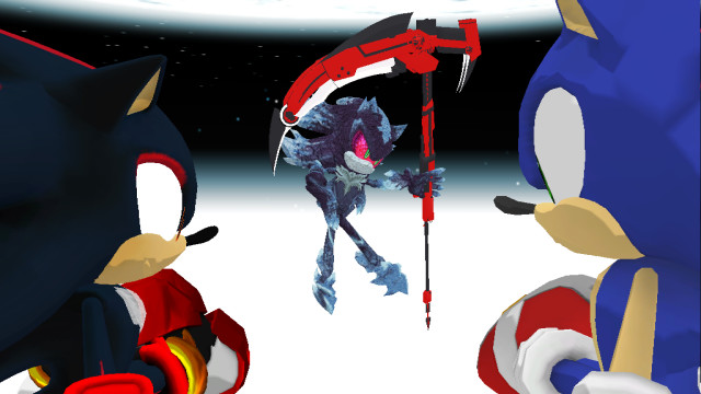 Sonic And Shadow Vs Mephiles by Silver-Nova-07 on DeviantArt