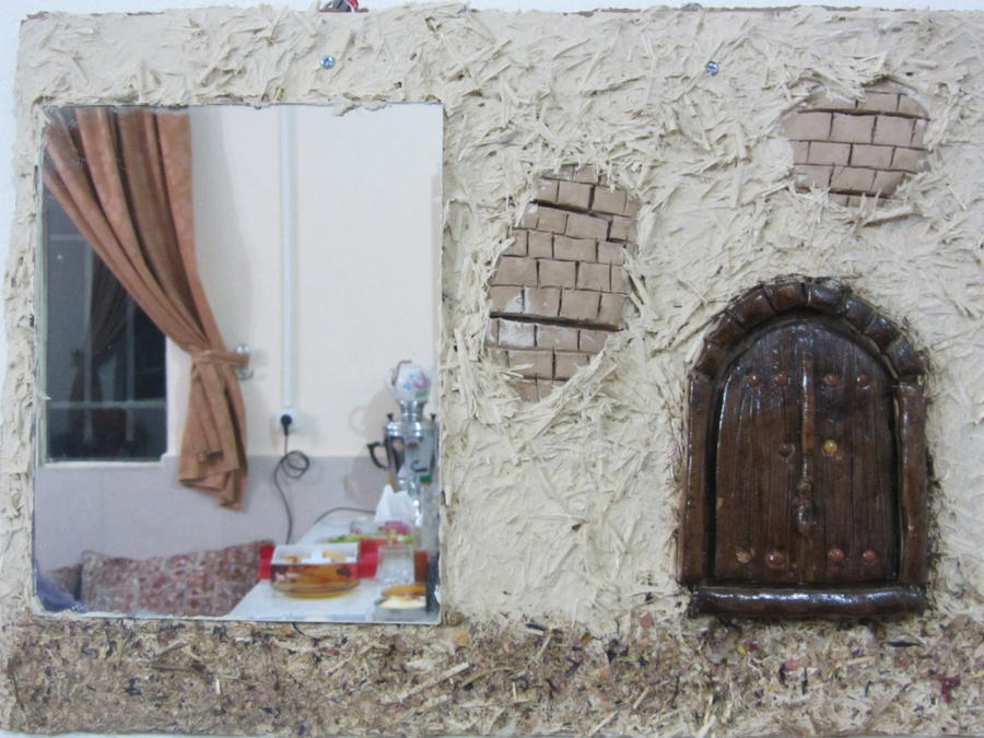 mirror house by samirashamseddin