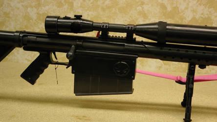 Yoko's sniper rifle by AndroidVeins