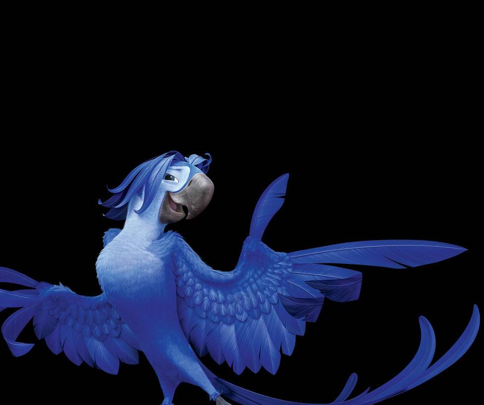im the sexyest bird in the tribe. by riocraft