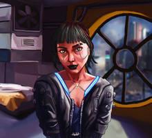 Cybergirl by srkalel