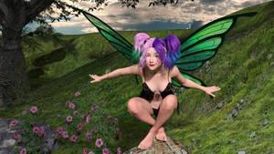 Pixie by drakonrenders