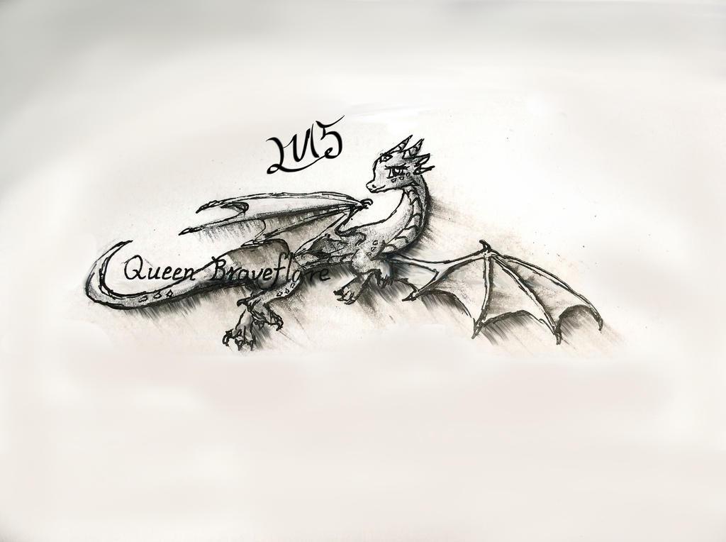 Queen? Braveflare  by Violazure-LV15