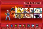 Ash Ketchum Trainer Card (My Version) 2