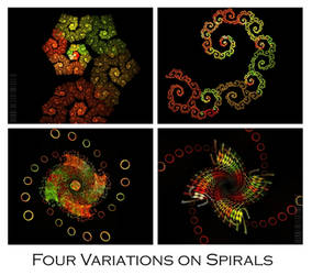 Four Variations on Spirals