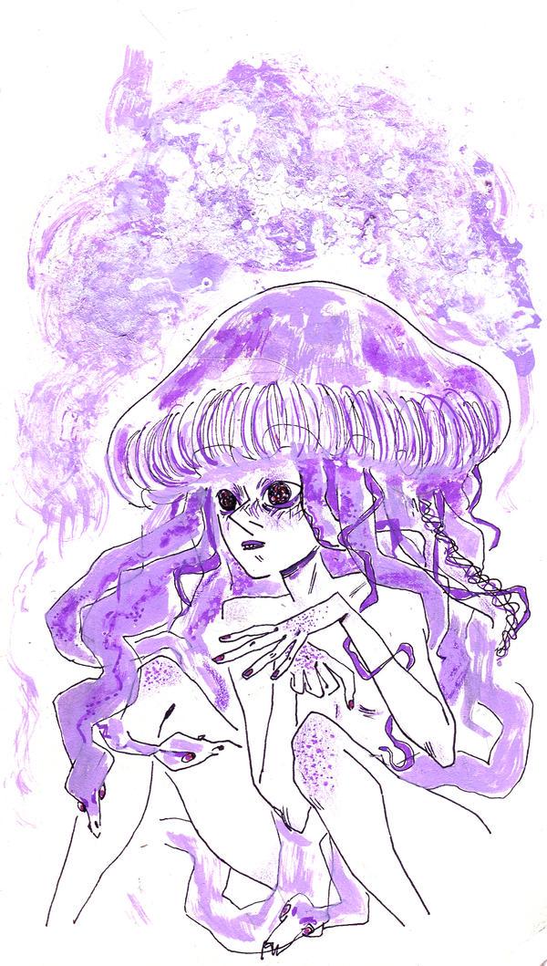 Meduse des marees
