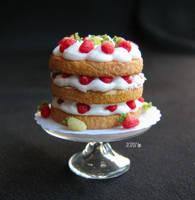 Brambly Hedge Cake by GoddessofChocolate