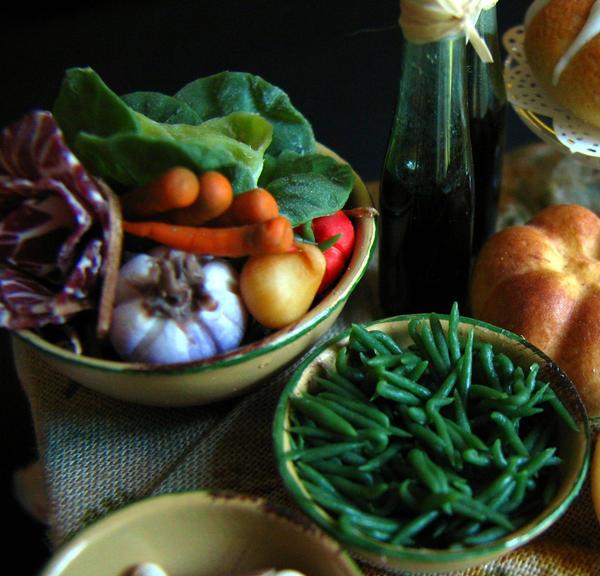 Very small vegetables    by GoddessofChocolate