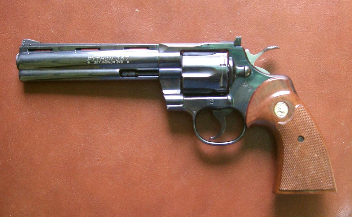 gun 02: revolver by cyborgsuzystock