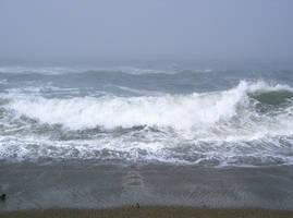 ocean waves 03 by cyborgsuzystock