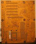 texture: mother board back