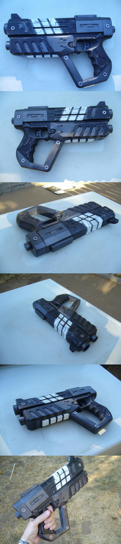 Mass effect M-4 Shuriken Revis by grimdarkkommissar