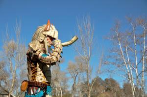 Monster Hunter, hunters horn by grimdarkkommissar