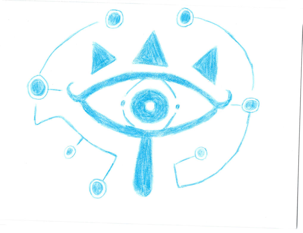 Sheikah Slate Eye by werecass