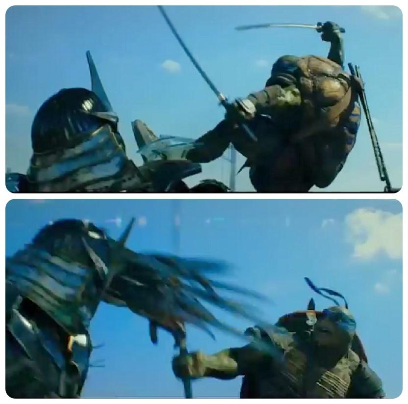 Leo vs Shredder by Sle...