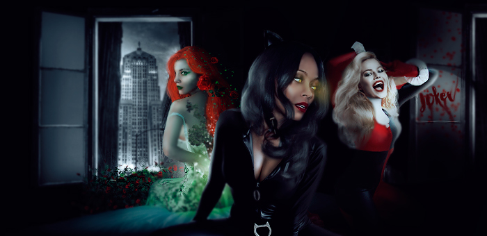 Gotham Sirens by fox-porn