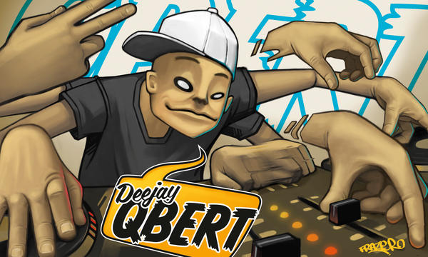 Dj Qbert Remixed by frazbot