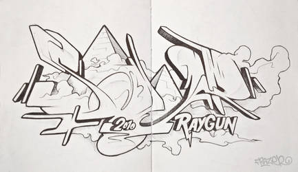 Beach Sketch by frazbot